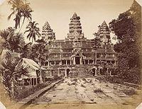 1866年撮影の中央祠堂の画像